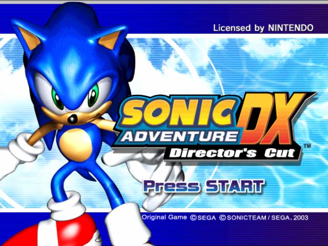 Sonic Adventure DX: Director'