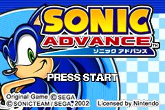 Sonic Advance (prototype)