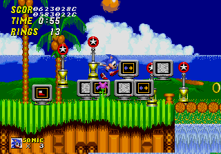 Sonic2 MD DebugMode.png