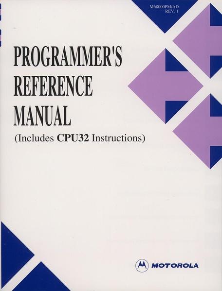File:Motorola 68000 Programmer's Reference Manual.pdf