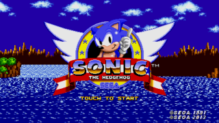 Sonic The Hedgehog 2013 Game