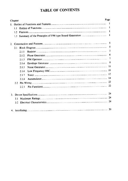 File:YM2151 Application Manual pdf - Sega Retro