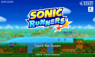 Sonic Runners - Nexus 5 title screen.png