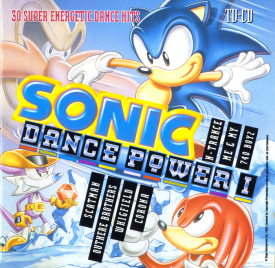 Sonic DancePower 1 front cover.png